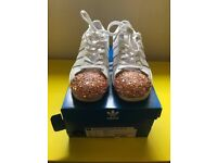 Adidas Supers white - rose 3D trainers - New
