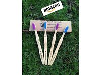 Bamboo Toothbrush – FDA Approved – Soft for Gums – Treat Gum Recession