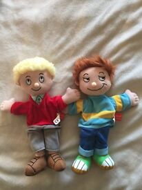 Horrid Henry and Peter hand puppet