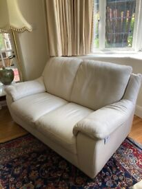 Natuzzi Leather two-seater sofa : excellent condition
