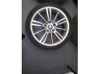BMW 3series MSport alloy wheel/needs to be repaired