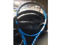 2 x BABOLAT PURE DRIVE LITE - 1 slightly used for 4 months