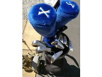 Ben Sayers Golf Clubs Set Complete With Bag & Trolley