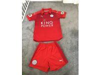 Leicester city boys away football kit