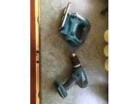 Makita drill and jigsaw BRAND NEW
