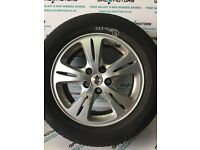 FORD GALAXY MK3 S-MAX 2006-2010 ALLOY WHEEL R16 WITH (BAD TYRE) EJ56-3