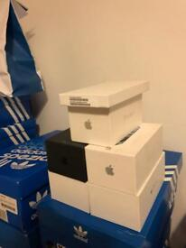 Various iPhone boxes