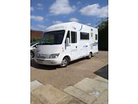 Pilote Galaxy G270T Motorhome 2 Berth 4 Belted seats 6 seater dining table