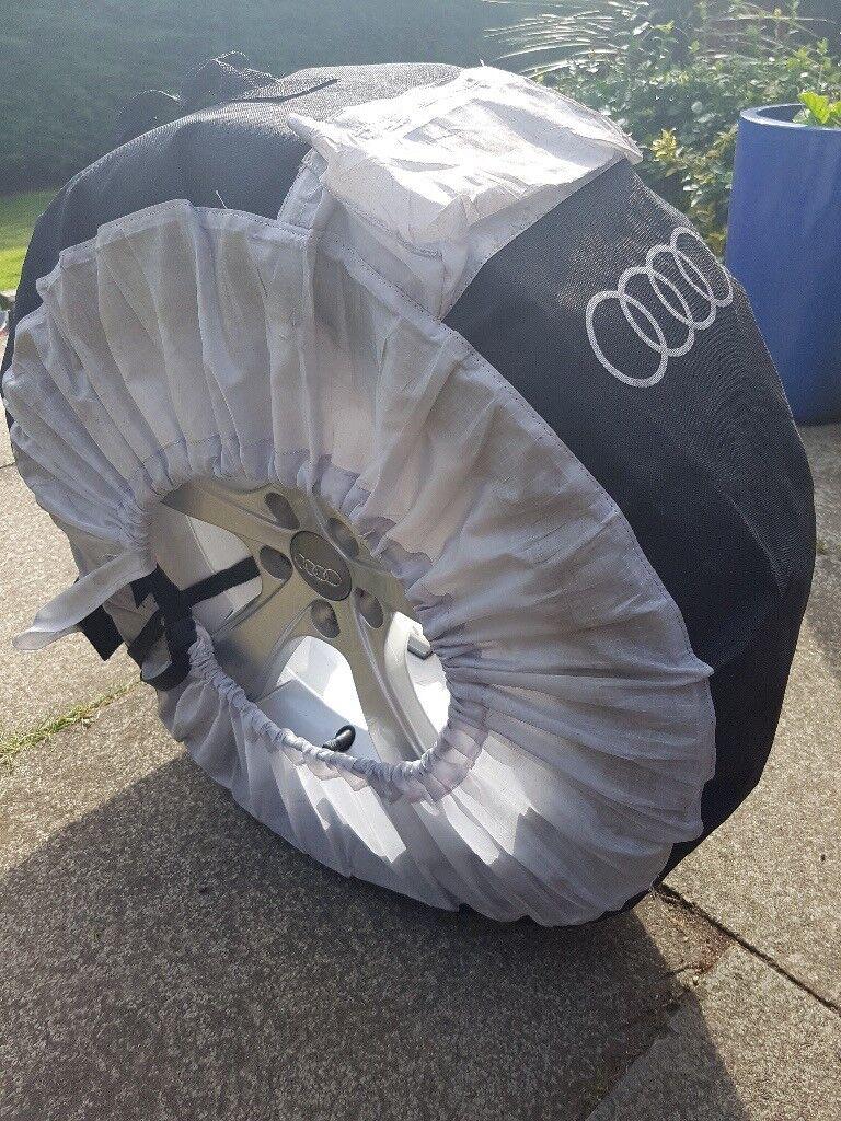 Audi alloys and Bridgestone winter tyres
