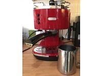 Delonghi Retro Style Coffee Machine
