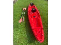 Wilderness system Tarpon 130T kayak sit on top/fishing kayak