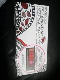 Smash box lipstick palette