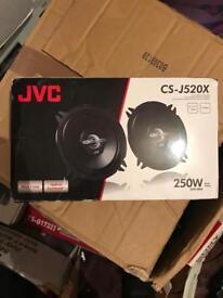 Brand new JVC speakers - 5.25 inch