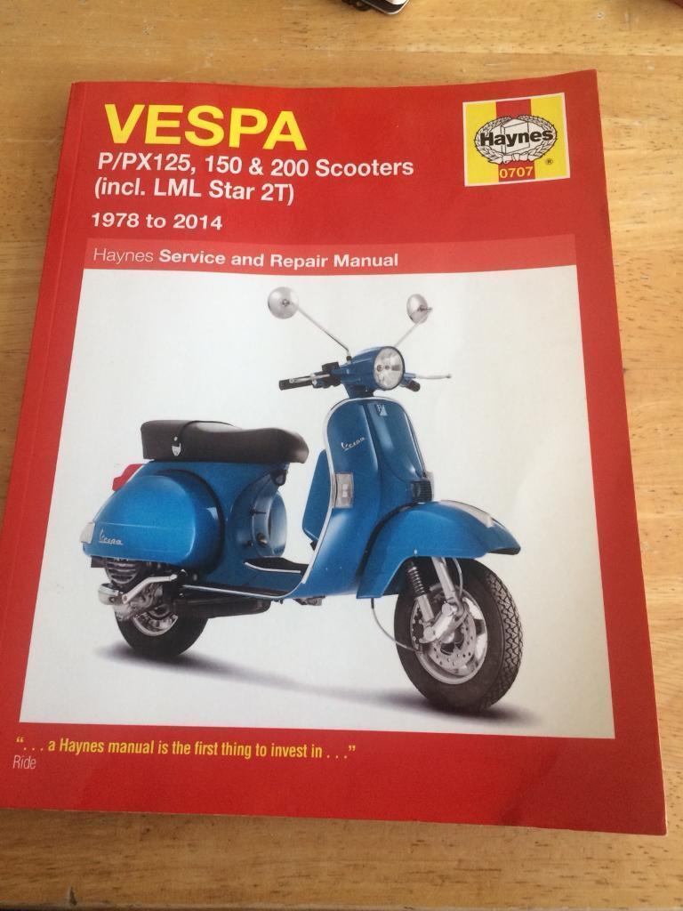 Vespa px LML Haynes manual