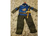 Mike the Knight dress up costume 7-8