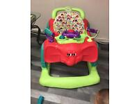 Mamas and papas baby walker and baby toy balls