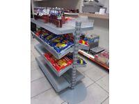 BRAND NEW double sided Shop Display shelf
