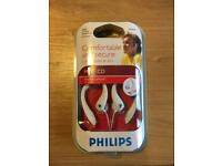 Philips - Over Ear Headphones - White - Brand New - Unopened