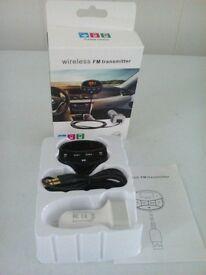 car wireless Fm transmitter brand new