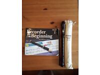 Yamaha Recorder & Book Beginners