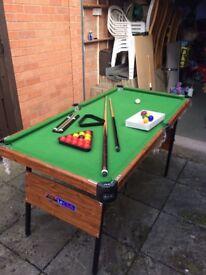 Child's B.C.E snooker table
