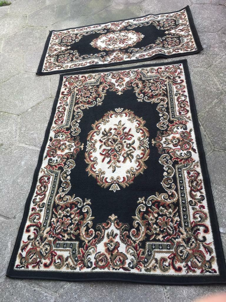 Home Living Rug Set 2 Rugs Sizes 100x15cm And Small Its Size 135x70cm Used 25
