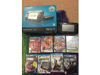 Wii U 32g Premium Edition with 8 brilliant games