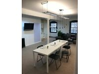 Bright Studio / Desk Space / Office Available in Leith - Constitution Street