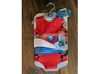 NEW Konfidence Babywarma Baby Newborn Swimming Wetsuit Strawberry 6-12 M Months