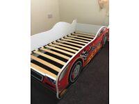 Children's car bed.