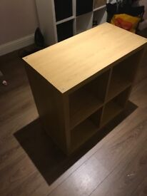 Ikea kallax storage oak