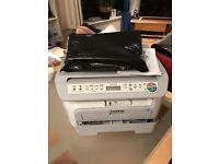 Brother printer scanner with paper and 2 ink cartridges