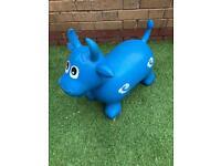 Bouncy cow