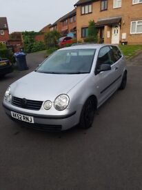 Vw polo on coilovers/lowered 11 months mot 4 new tyres dubbed