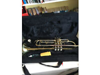 Elkhart trumpet for sale with case