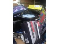 joblot of various electrical items toys and christmas items in massive pallets £250