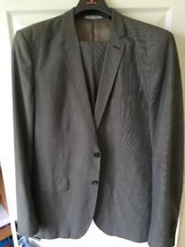 Zara Tailored Fit Suit 42L
