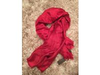 Lv scarf red
