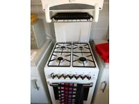 Flavel 50cm cooker with eye level grill