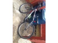 £20 mountain bike all works just had new brakes and tyers