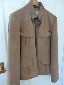 NEXT Suedette Jacket size 10