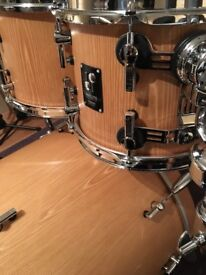 Sonor Prolite drum kit with hardware