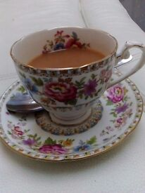 English Rose Afternoon Teas - Vintage Afternoon Tea's served within your home/venue