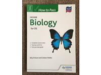 Higher Biology for CfE How to Pass Hodder Gibson SQA