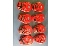 Blitz Sport Boxing Spot Leather Focus Pads 4 PAIRS NEW £30
