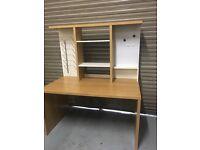 ** Office Desk - Beach Effect Wood **
