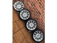"""5x108 18"""" AXE alloy wheels Ford Focus Mondeo ST Volvo C30 V50 V70 Jaguar"""