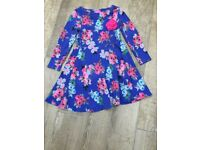 Joules Flower Dress - Size 5-6 years
