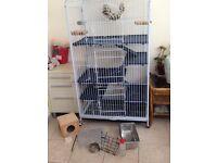 Chinchilla cage excellent condition