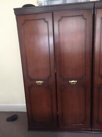 Antique oak bedroom furniture